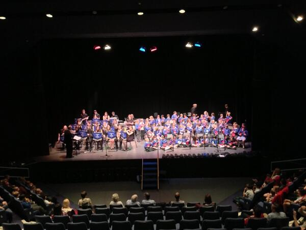Year 3 Ukelele Performance at Warwick Arts Centre